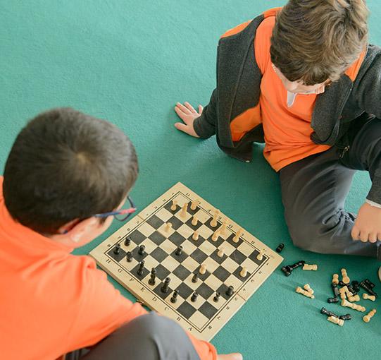 Atividades de Enriquecimento Curricular - Xadrez